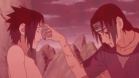 Itachi-Sasuki final Moment