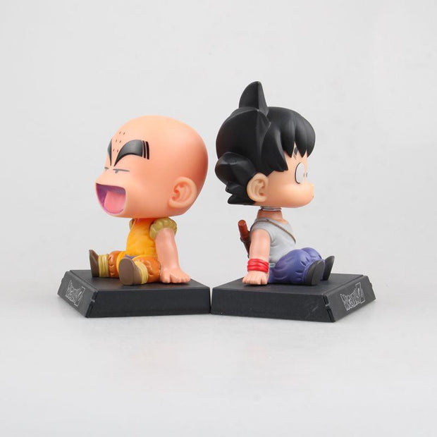 Dragon Ball Z Goku Kuririn Car Decoration Phone Bracket-Animerevolt