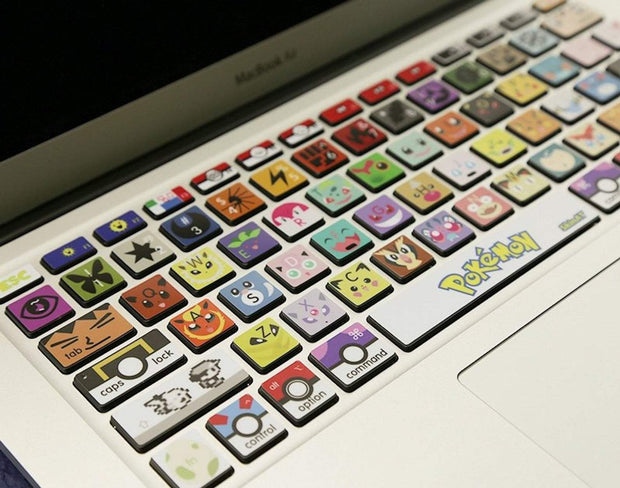 Stylish Made-To-Order Pokemon MacBook Stickers-Animerevolt