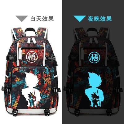 Dragon Ball laptop/ Travel USB Charging Backpack-Animerevolt