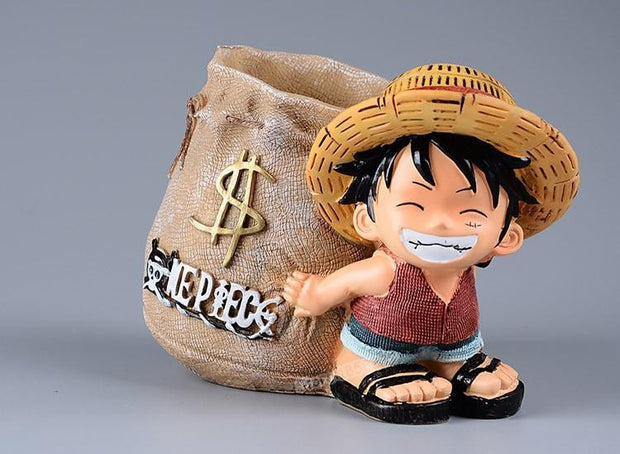 One Piece Luffy Resin Office Pen Holders-Animerevolt