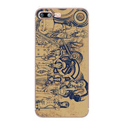 ONE PIECE Phone Case Luffy Zoro Coque for Iphone-Animerevolt