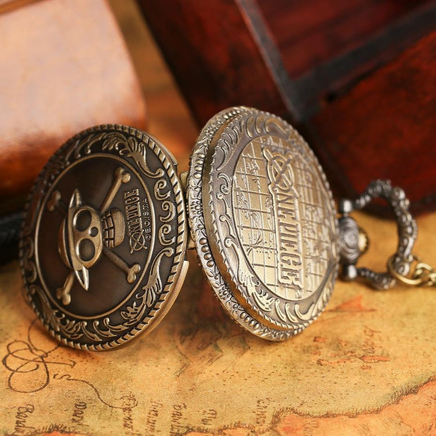 One Piece Pocket Watch Men Women Necklace-Animerevolt