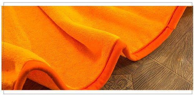 orange dragon ball plush blanket sofa-Animerevolt