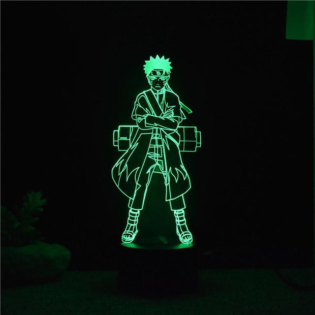 7 Colors Changing 3D Visual Naruto-Animerevolt