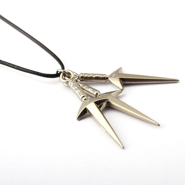 NARUTO Choker Necklace 3 Kunai-Animerevolt