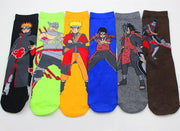 Naruto Akatsuki Members Itachi socks fashion-Animerevolt