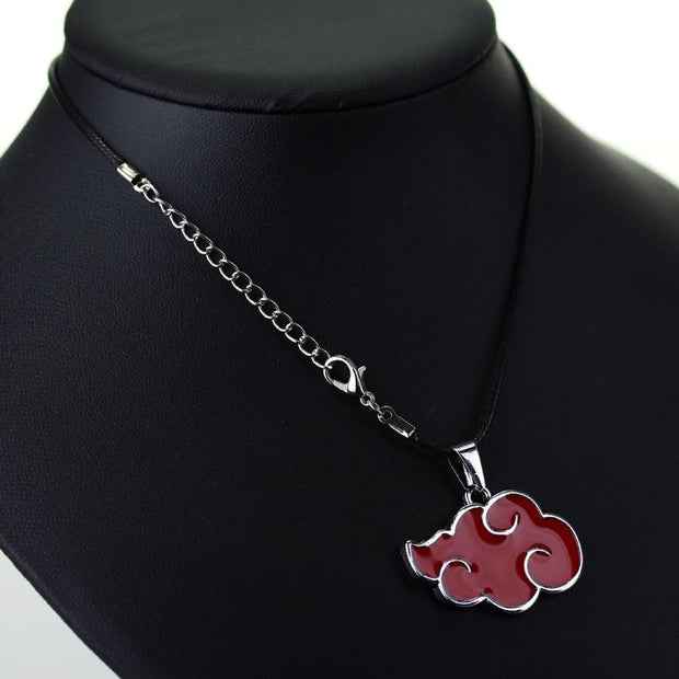 Naruto Akatsuki Red Cloud Necklace-Animerevolt