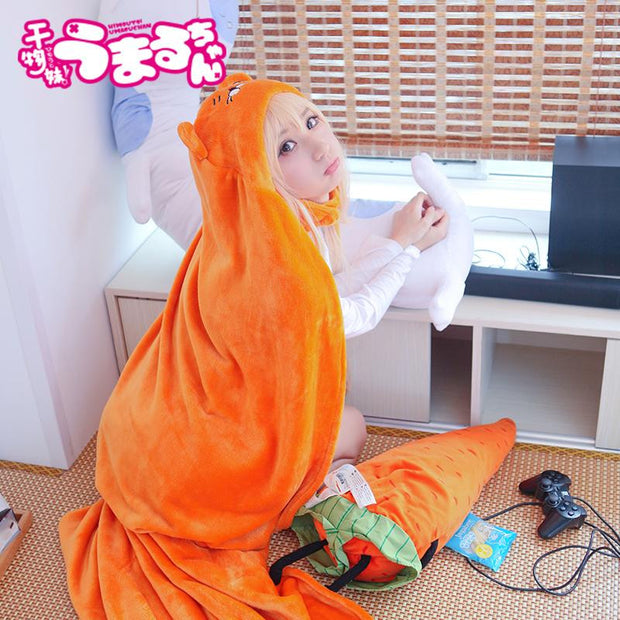 Cosplay Costume Flannels Cloaks Blanket Soft Cap Hoodie-Animerevolt