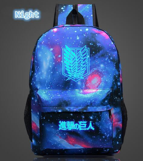 Attack on Titan Luminous backpack-Animerevolt
