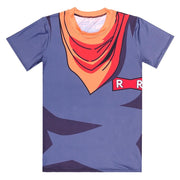 Dragon ball Android 17 T-shirts-Animerevolt
