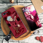 Ban Seven deadly sins Silicone Phone Case Cover for Iphone-Animerevolt