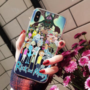 Rick And Morty On Sale! Luxury Cool phone Case for iPhone-Animerevolt