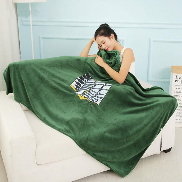 Attack on Titan Blanket-Animerevolt