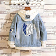 Attack on Titan Wings of Freedom Casual Jacket-Animerevolt