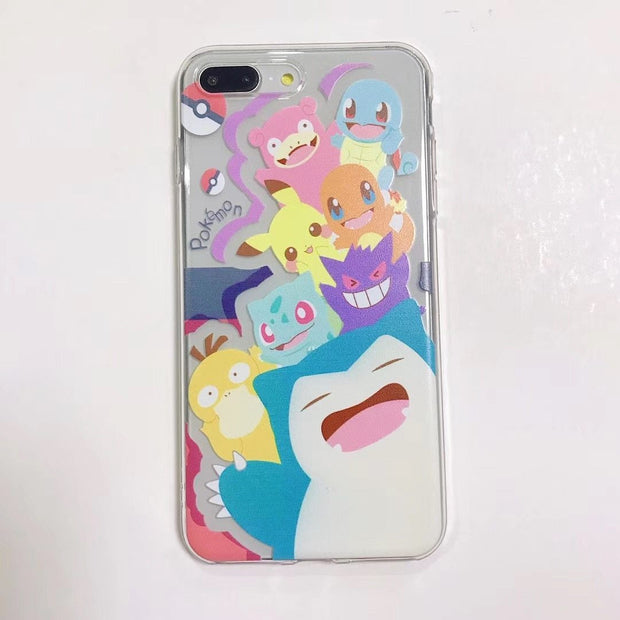Pokemon Pikachu Phone Case For iPhone-Animerevolt