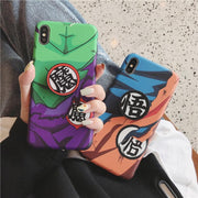 Son Goku/ Piccolo silicon cover case-Animerevolt