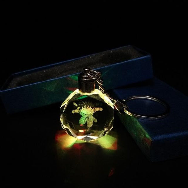 Cute Glowing Dragon Ball Z Crystal Keychain-Animerevolt