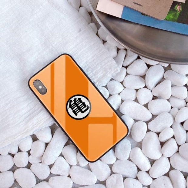 Tempered Glass Dragon Ball Phone Cover-Animerevolt