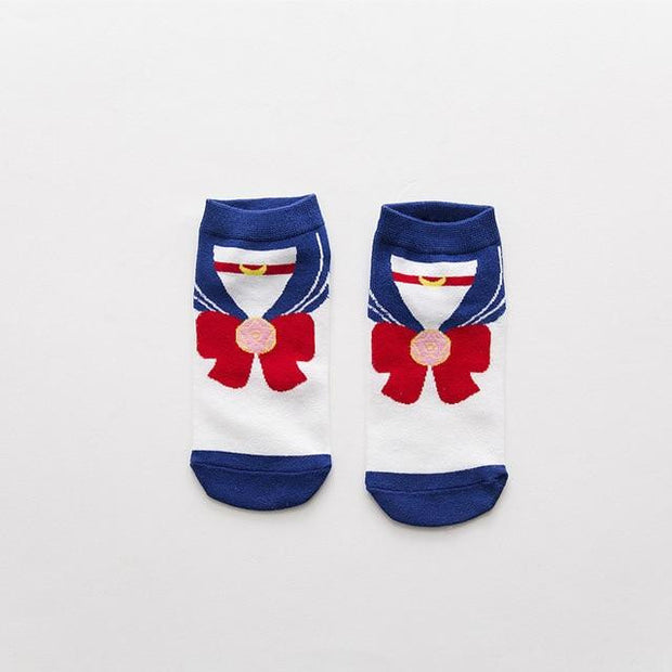 Women's Cotton Sailor Moon Socks-Animerevolt