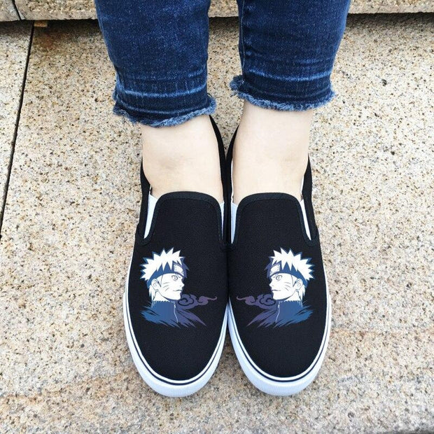 Low Top Casual Naruto Shoes-Animerevolt