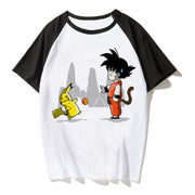 Pokemon Pikachu Goku t-shirt-Animerevolt
