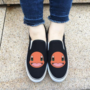 Woman Low Flat Pokemon Charmander Shoes-Animerevolt