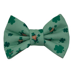 Irish Dog Bow Tie