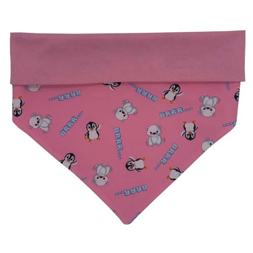 Winter Dog Bandana Pink Australia
