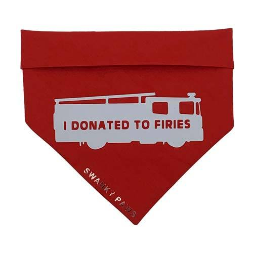 Charity Australia Fires Dog Bandana Red