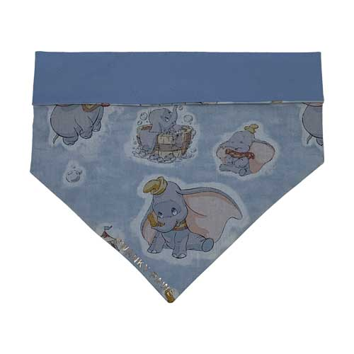 Boys Reversible Dog Bandana Blue Dumbo
