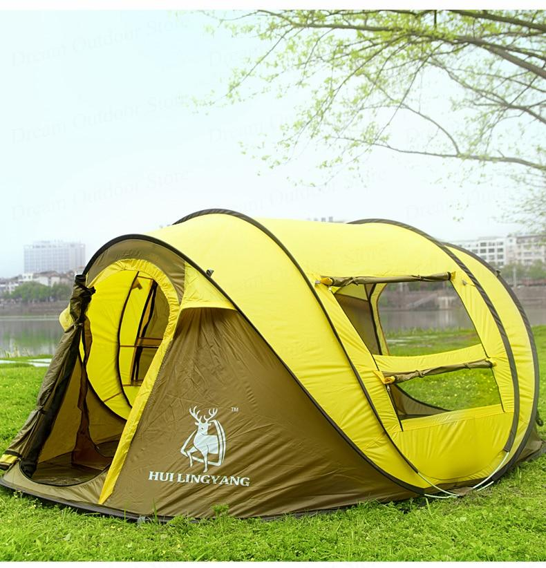 Professional Pop Up Tent (3 Man)