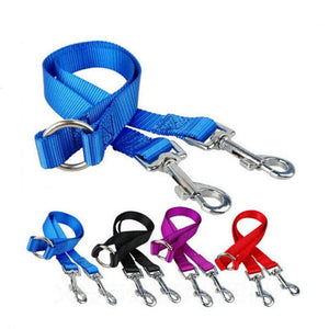Twin dual coupler dog leash