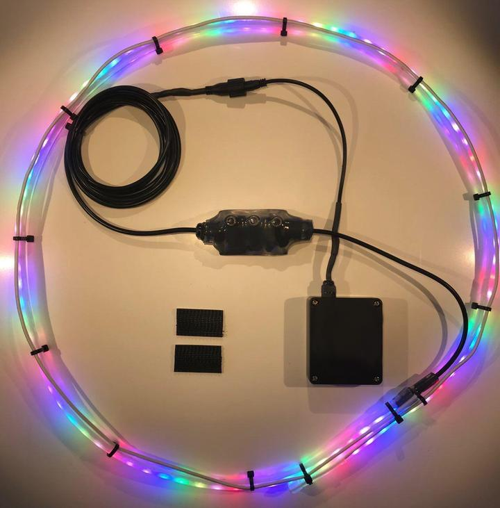 【60% OFF PRESALE-Shipped On June 20th-Limited 100 items】-Basketball Hoop Sensor-Activated LED Strip Light