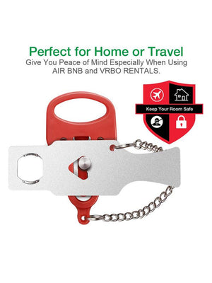 Security lock - Travel Lock, AirBNB Lock, School Lockdown Lock