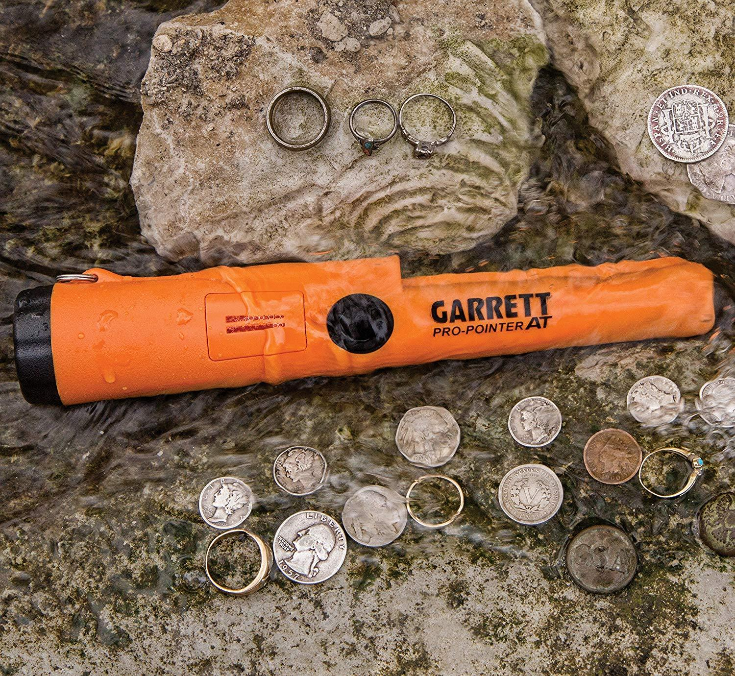 (70% OFF ONLY TODAY & Free Shipping)Garrett 1140900 Pro-Pointer AT Waterproof Pinpointing Metal Detector, Orange