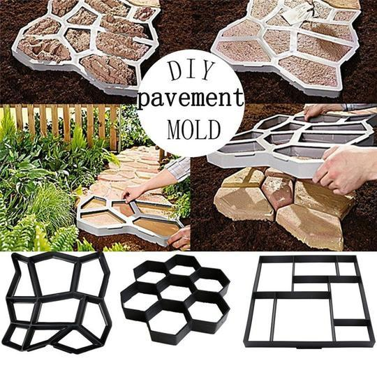 【Make a Path By Your Own】Path Floor mould