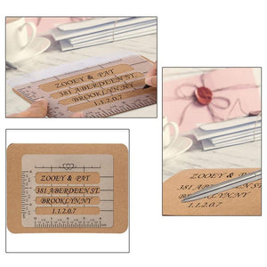 (70% OFF LAST DAY PROMOTIONS )Envelope Guide 4/PCS
