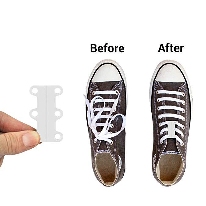 (A Pair Of Only $6.99 For Today)Magnetic Shoelaces Shoe Closure for Sneaker No-Tie Shoe Buckles Closure