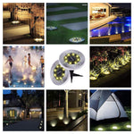 8 LED Bulb - Solar Power Auto Disk Light - 50% OFF TODAY