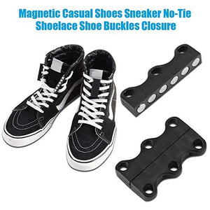 (A Pair Of Only $6.99 For WINTER SALE) Magnetic Shoe Closures – Strong Shoe Lace Closures for Adults & Children