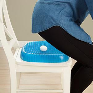 Egg Gel Sitter Foam Seat Cushion
