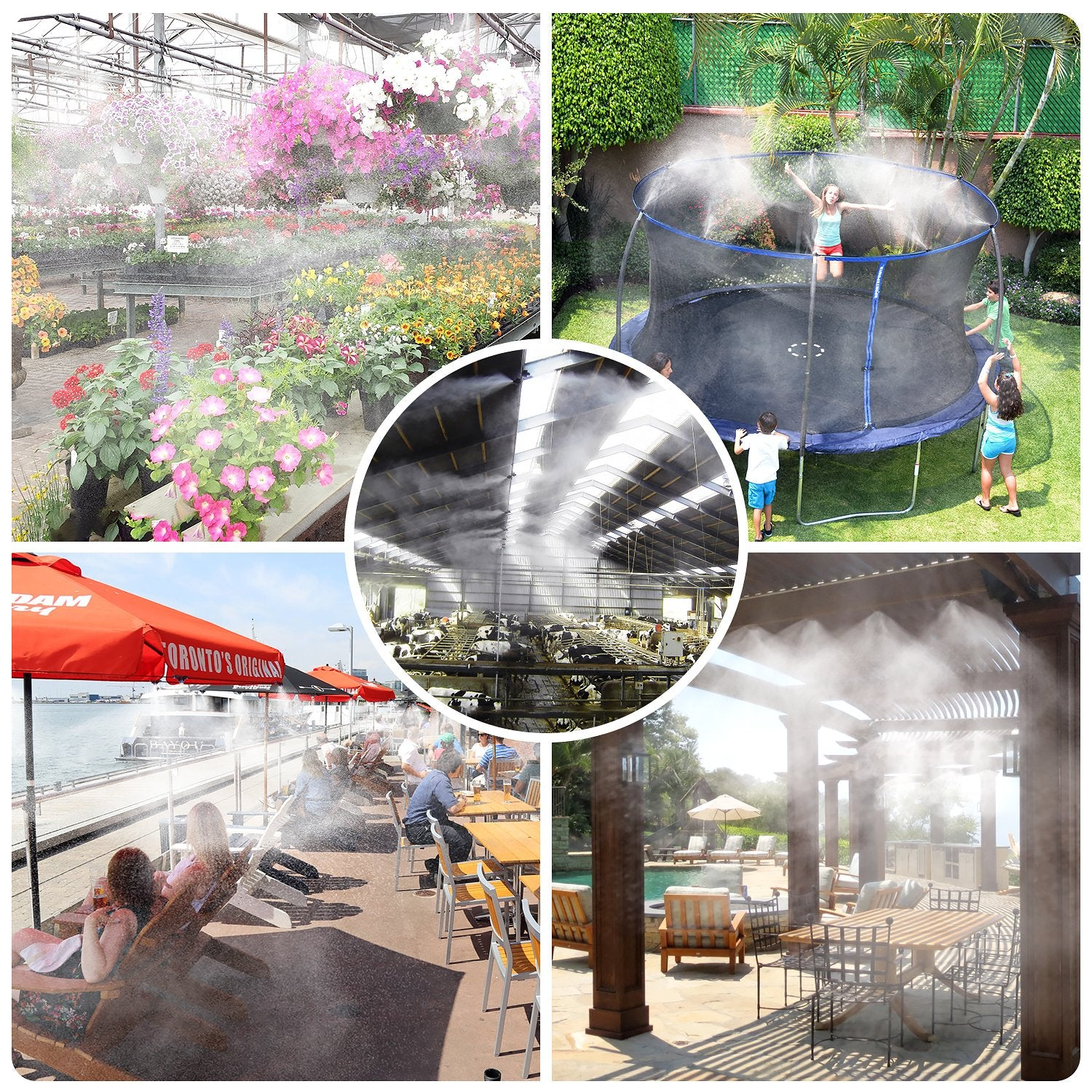 【60% OFF SUMMER SALE&FREE SHIPPING】OUTDOOR COOLING SYSTEM