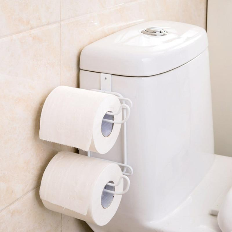 (70% OFF LAST DAY PROMOTIONS )Double Rack Toilet Paper Holder