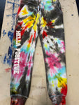 Hella Positive Tie Dye Jogger Sweatpants - Small