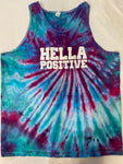 Hella Positive Tie Dye Tank Top - 2XL