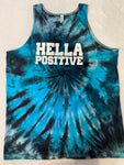 Hella Positive Tie Dye Tank Top - XL