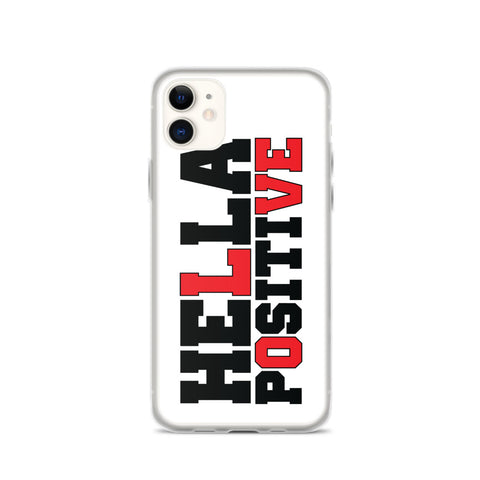 Hella Positive LOVE iPhone Case