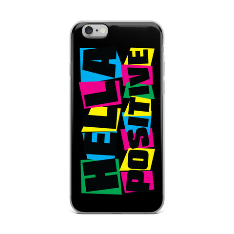 Hella Positive Colors iPhone Case