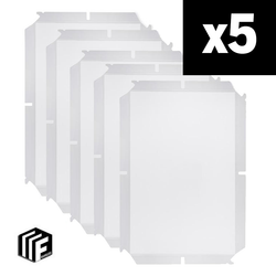12 x 18 Frameless Kit - 5 Pack (10% savings)